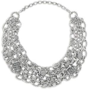 Heirloom Chain + Pavé Convertible Necklace